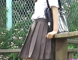 Jade Omni - O38-01 - Schoolgirls, Drop Panties Steal Skirts