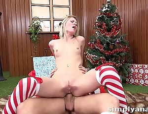 Ass Fucking - Claudia Macc treats our guy to anal sex and takes a facial