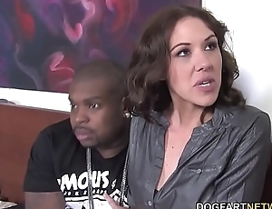 Negro Cock Slut Katie Angel Fucks In Front Be expeditious for Her Son