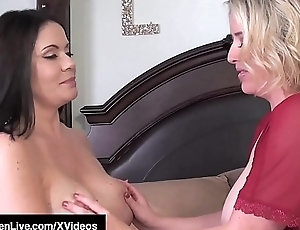 Curvy Lesbian Maggie Green Gets Pussy Eaten By Rachel Storms