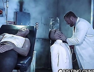 Daddy Doctor &amp_ His Big Dick Monster Fuck Nerdy Assistant