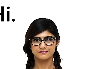 MIA KHALIFA - I Invite You Less Check Out A Closeup Be advantageous to My Perfect Arab Body