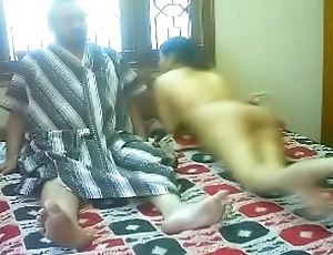 #NaziaPathan Indian arab housewife with a sexy butt having sex with her lover - part 2/2