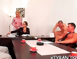 Sexy s&amp_m festish with tasteless mistress spanking her slave hard