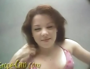 Alexa Being Groped Cammed by Harry - More of her at Grope-Cam.com