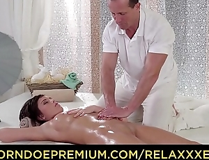 RELAXXXED - Sensual oily massage and anal fuck forwards spa for Euro cosset Anabell