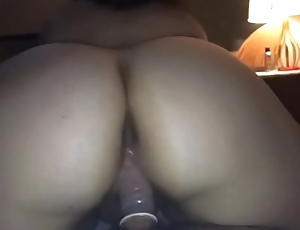 Thick Latina Beauty Riding Her Lover - POV