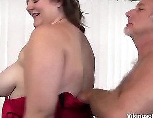 Big Beautiful Woman Slut gets her broad in the beam fat ass some hard spanking