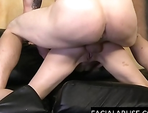 Cute young slut used hard