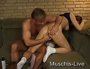 Student fucked in the party cellar