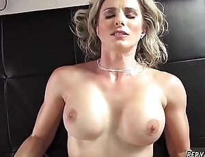 Step mom and compeer'_ patron watch porn stocking xxx Cory Chase in