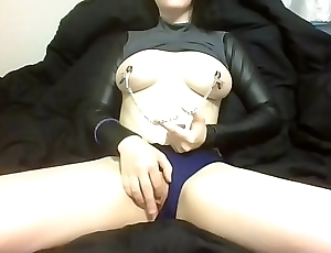 Rubbing Clit While Teasing My Nipples In Crop Top