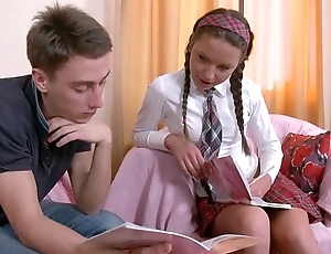 Anal Fuck is just the applicable thing for Horny Schoolgirl