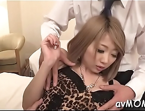 Milf devours big cock after getting nipps licked