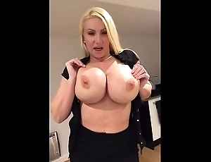 Milf strips and plays home alone -  Milfintros.com