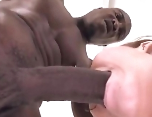 Oral beyond everything Massive black cock by white girls