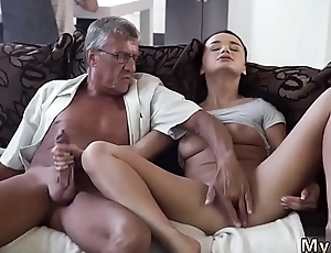 Skinny granny anal old increased by sky pilot daddy father patron'_ crony'_s lassie