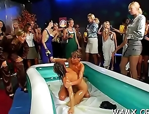 Lesbo babes amateurs in xxx scenes forth food fetish scenes
