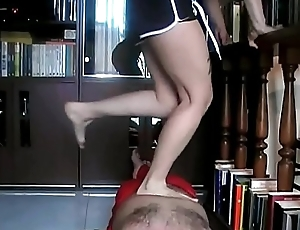 60 Jumps on the Fakir'_s Belly (Stomach Demolition)