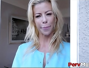 Horny MILF Step Mom Alexis Fawx Lets Her Sons Best Friend Fuck Her POV