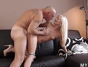 Teen anal swallow Horny platinum-blonde wants to try someone lil'_ bit