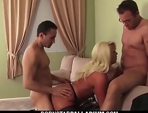 Blonde Everywhere Bombing Tits Gets Plowed