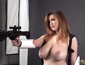 Tessa Fowler - StormTrooper with Huge Perfect Tites