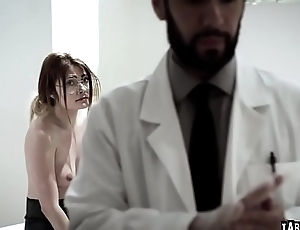 Adria Rae got her tight young pussy lubricated fingered and fuck hard wits Tommy Pistols cock!